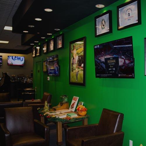 Lounge area, tvs, sports bar